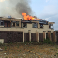 Firefighters dealt with major blaze at 10 bedroom house