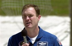 Space Shuttle commander charged with the murder of teenage sisters