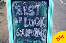 A Thurles coffee shop has a lovely offer for Leaving Cert students today