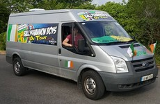 These Donegal lads are travelling to the Euros in serious style