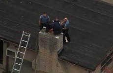 Watch: Teen rescued from chimney after 10 hours