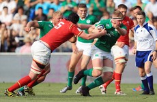 Wales U20 lock cited for alleged gouge on Ireland's Kelvin Brown