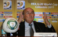 'No racism in football,' claims Blatter