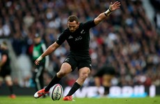 Cruden takes 10 shirt as All Blacks begin post-Carter and McCaw era