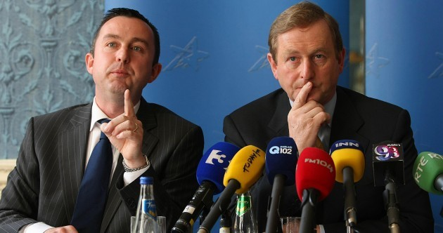 'The only objective was to get Enda and Fine Gael back in and it's done'
