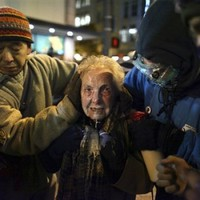 84-year-old woman pepper-sprayed at Occupy Seattle protest