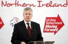 Peter Robinson threatens to resign over emblem row
