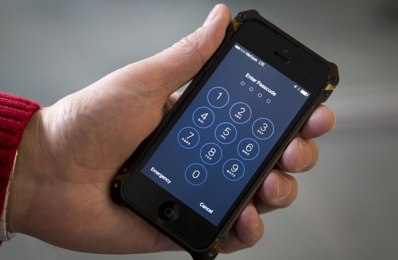 You should take down this smartphone code when you get the