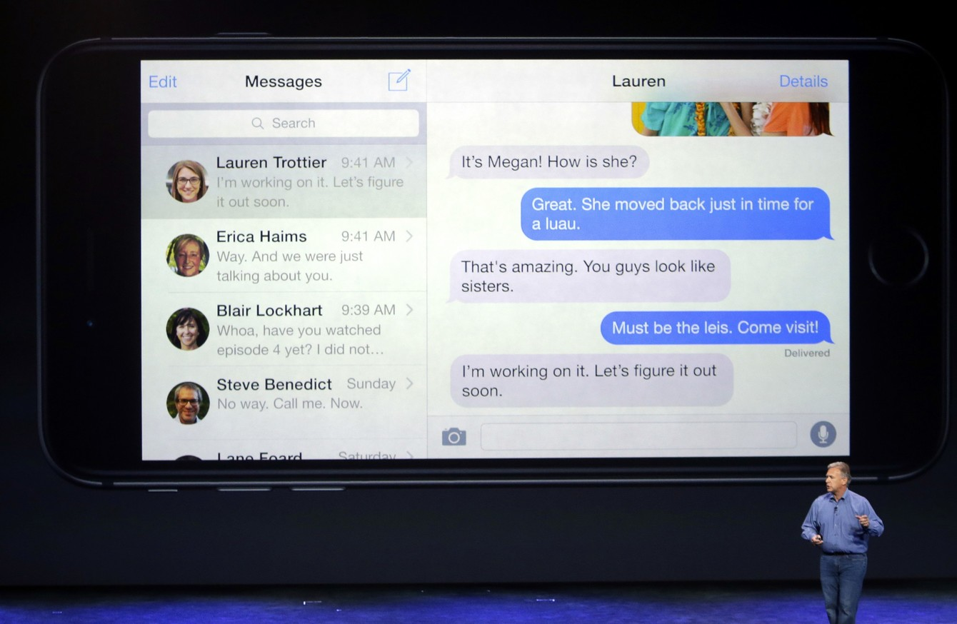 Could Apple's iMessage be making its way to Android? · TheJournal ie