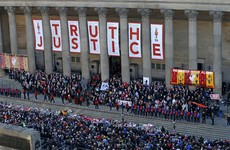 Manchester police apologise for using Hillsborough disaster image in recruitment poster