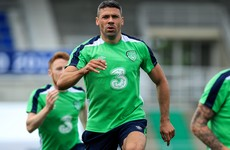 Boost for Ireland as Walters returns to full training ahead of Euro 2016 opener