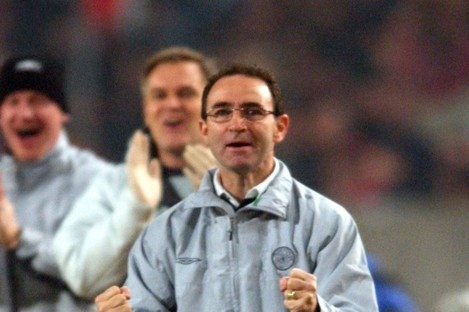 Martin O'Neill enjoyed great success with Celtic in Scotland and in Europe.