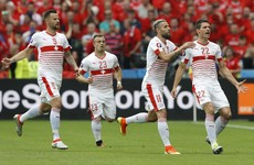 10-man Albania's brave performance not enough to avoid Swiss loss