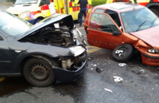 Man taken to hospital after Dublin crash