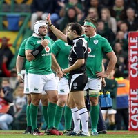 Stander facing a hearing but Schmidt says red card was 'very, very harsh'