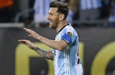Maradona was caught telling Pele that Messi's no leader... but El Diego says it wasn't criticism