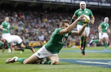 Analysis: Ireland's 15-man opening quarter shows Schmidt's attacking intent