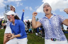 Maguire and Mehaffey help GB and Ireland to memorable Curtis Cup win at Dún Laoghaire