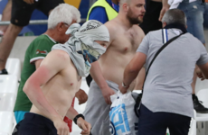 'The English fans use chairs and bottles, the Russian style is only fists'