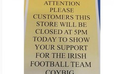 Smyths Toys is letting 400 of its staff off early to watch the Ireland match this evening