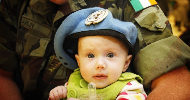 Irish Peacekeeping troops welcomed home from Lebanon