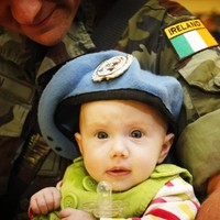 Irish Peacekeeping troops welcomed home from Lebanon