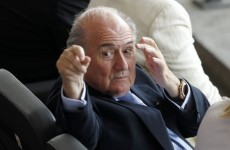 This Charming Man: The comedy stylings of Joseph S. Blatter