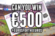 Can you win €500 cash in our #EurosForTheEuros competition?