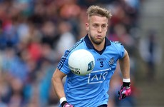 Are high balls at the back Dublin footballer's Achilles heel?