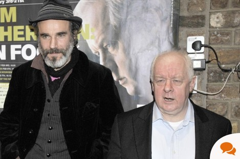 The real Daniel Day Lewis and Jim Sheridan. Not an estate agent in sight.