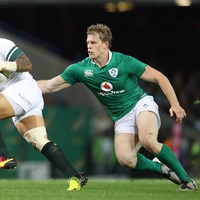 Andrew Trimble can't wait to get back to 'the day job', after beating Boks as a flanker