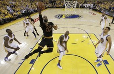 LeBron, Kyrie score 41 each to spoil Warriors' title party and keep comeback dream alive