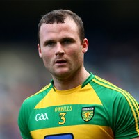Neil McGee likely to miss the remainder of Donegal's Ulster campaign