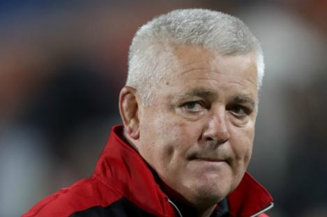 Wales coach Warren Gatland.