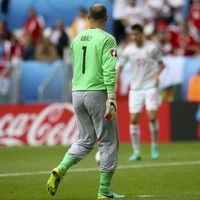 Crystal Palace legend Gábor Király and his famous grey pants have just made Euros history