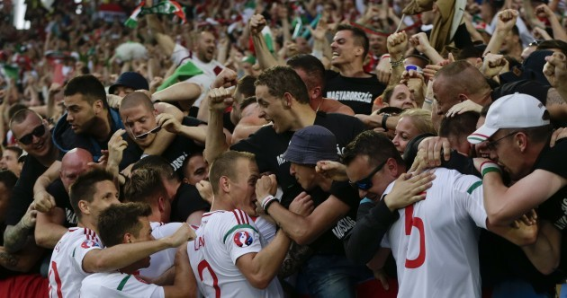 Hungary have pulled off the first big upset of Euro 2016