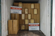 Eight million contraband cigarettes found in container marked 'garden furniture'