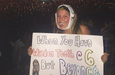 A dedicated fan didn't let surgery keep her from going to a Beyoncé concert