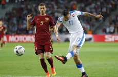 Europe made heart eyes at Marek Hamsik while he made bits of Russia's defence