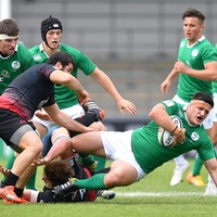 As it happened: Ireland v Georgia, World Rugby U20 Championship