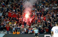 Russia risk disqualification as fans breach Uefa regulations again