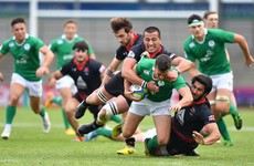 Ireland U20 made to work for semi-final spot by resolute 14-man Georgia