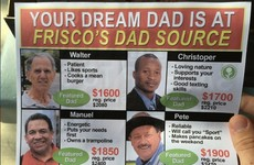 This prankster has created some ads taking the piss out of Father's Day sales