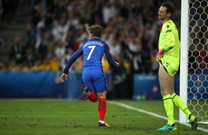 They've gone and done it again! 90th minute Griezmann header to France's rescue