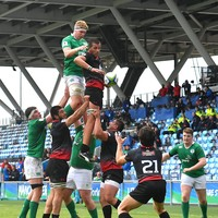 Another game down, another man down: Powerful lock Gallagher the latest worry for U20 semi-final