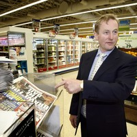 Enda Kenny is saving money by reading more news online