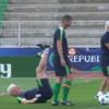 Roy Keane put Ireland goalkeeping coach Seamus McDonagh on his arse during training today
