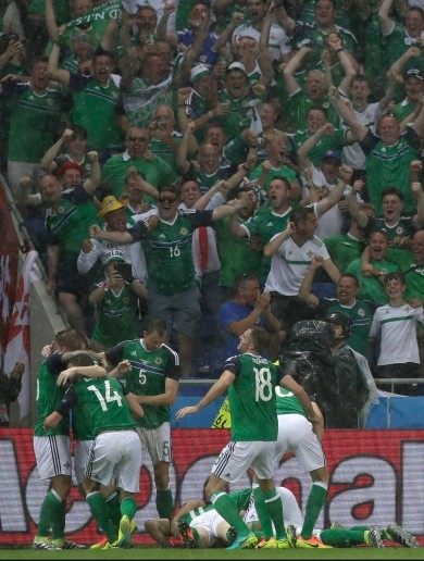 Northern Ireland take big step towards knockout stages with historic win over Ukraine