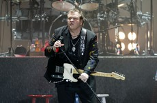 Singer Meat Loaf taken to hospital after collapsing on stage