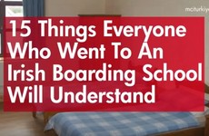 15 things everyone who went to an Irish boarding school will understand